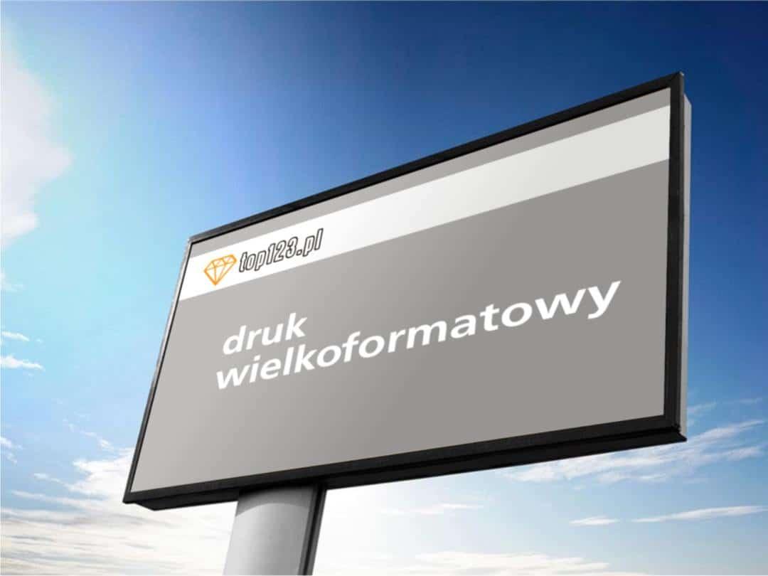 Druk wielkoformatowy, banery, wydruki na billboardy