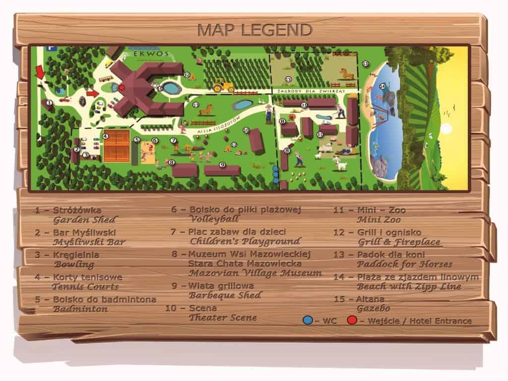 szyld tablica blacha mapa 1