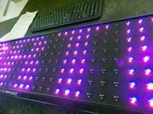 zewnętrzna tablica reklamowa LED bez szyby