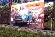 tablice reklamowe na ogrodzenie rama