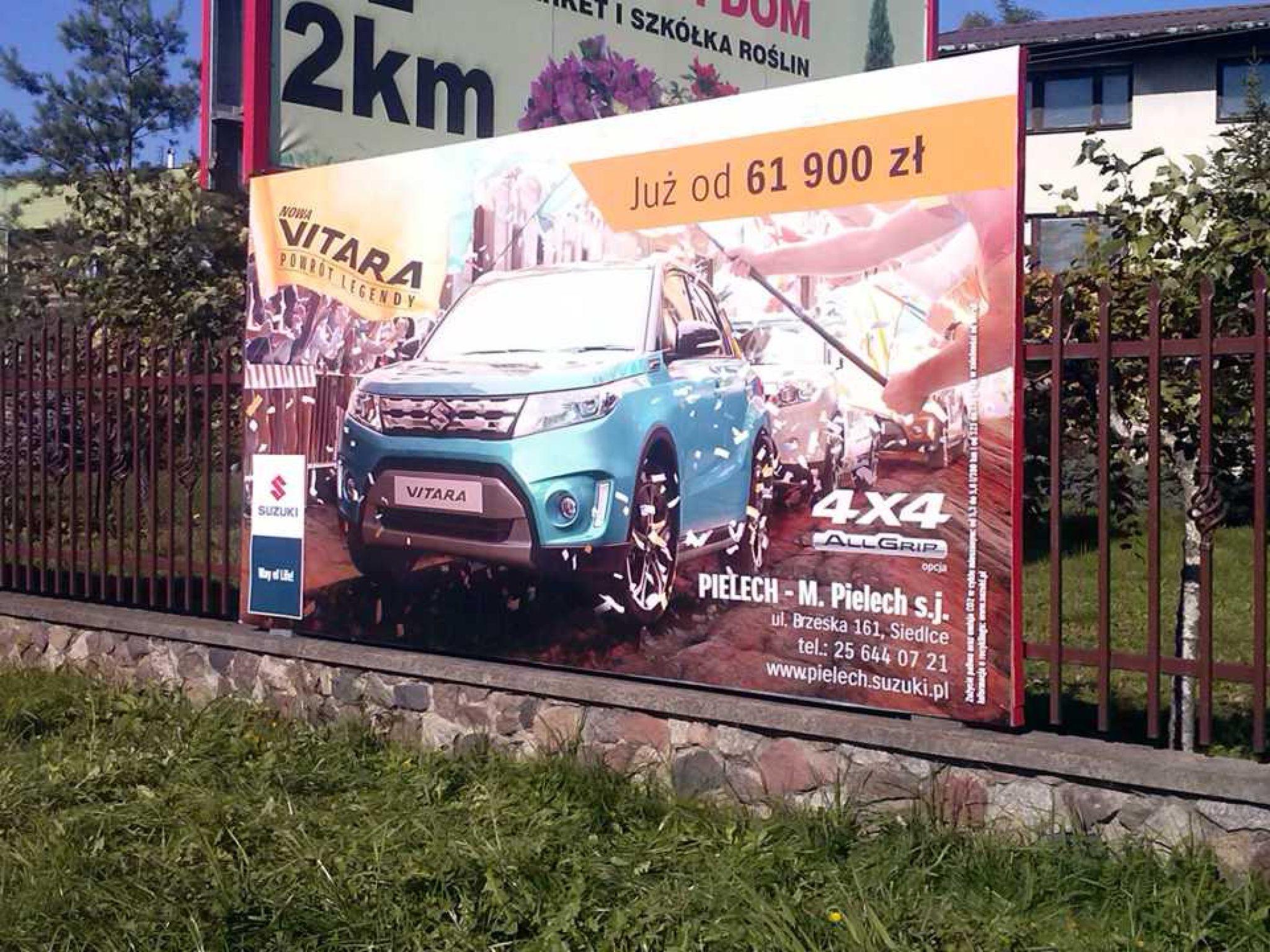 Galeria tablice reklamowe
