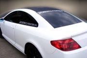 oklejanie auta napisy naklejki reklama na samochód