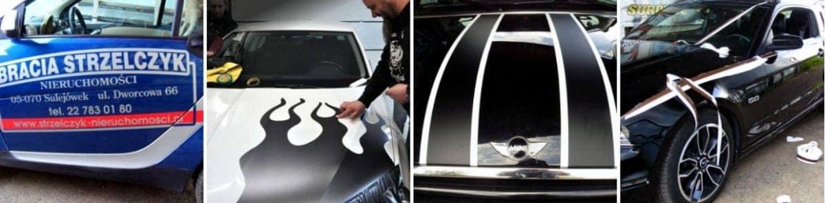 oklejanie samochodów reklama na pojazdach galerie