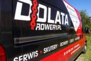 oklejenie samochodu dostawczego firmy Dolata 2