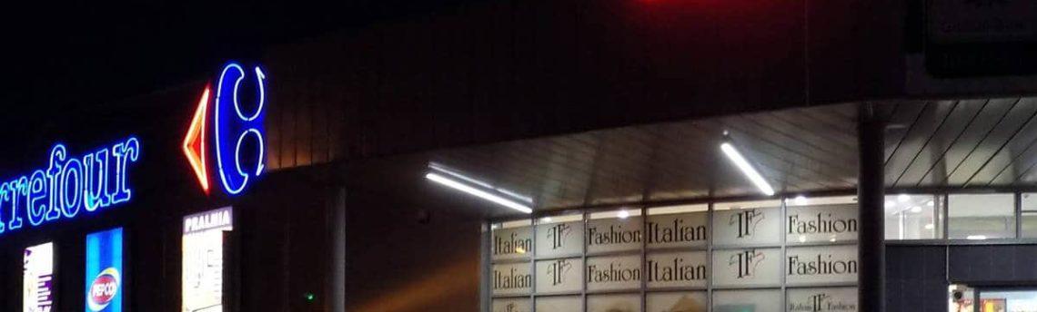 Reklamy dla sklepu Carrefour