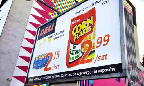 bilbord druk plakatów na billboardy mińsk