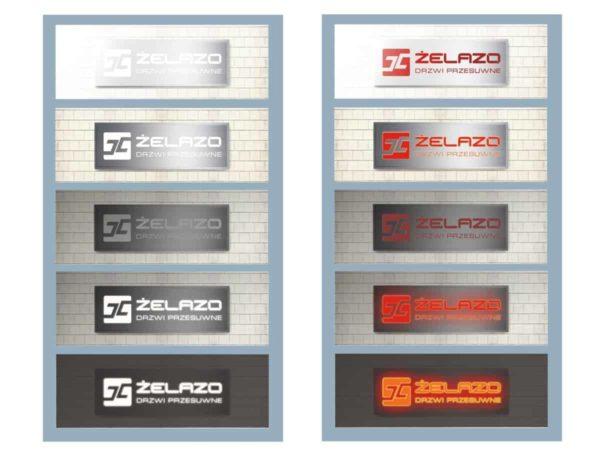 projektowanie nietypowego kasetonu reklamowego na ścianę