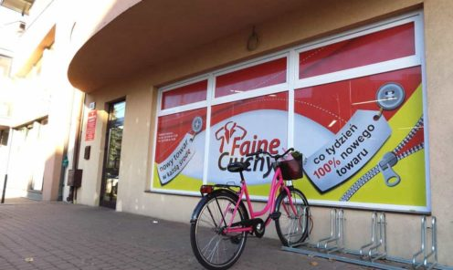 Reklama na podobne witryny szyby w Mińsku Mazowieckim i Wyszkowie   Reklama na szyby witryny - podobne sklepy