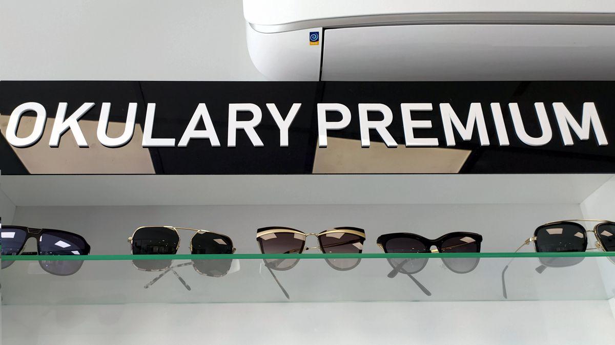 reklama w sklepie litery 3D plexi na otoku