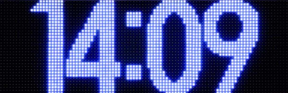 Stopery i wyświetlacze wyników LED