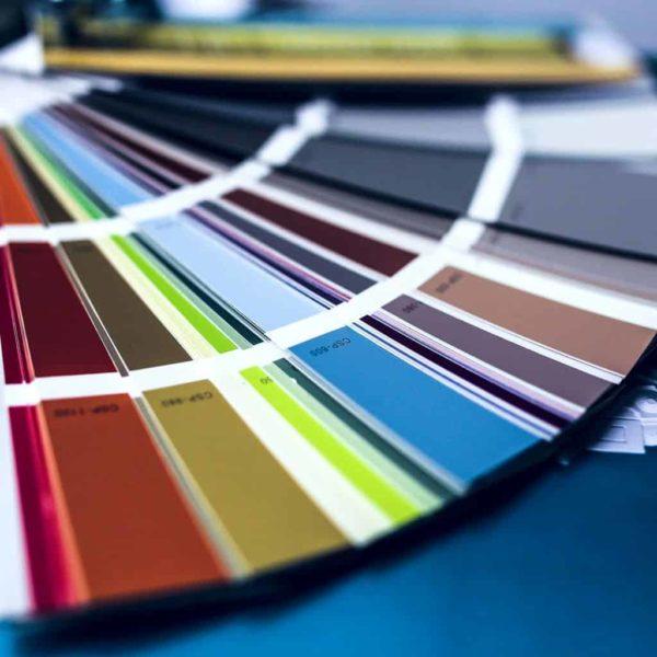 Projektowanie graficzne jakie kolory barwa uzgadnianie