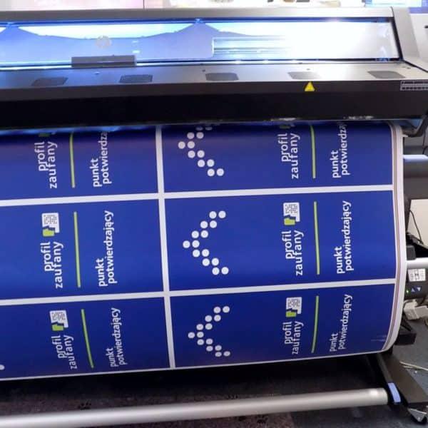 druk lateksowy HP Latex wydruki reklama dekoracja