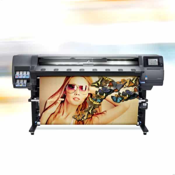 druk lateksowy wydruk HP Latex reklamy