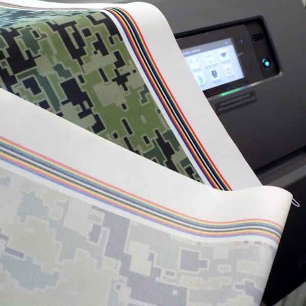 ekologiczny wydruk lateksowy na tkaninach