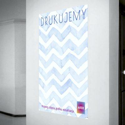 Druk plakatów papierowe plakaty w dużym formacie