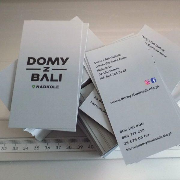 cyfrowy druk wizytówek firmowych drukarnia