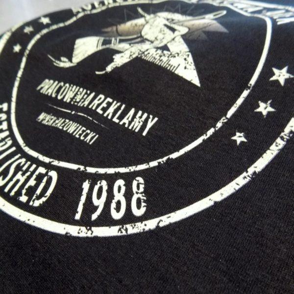 reklama nadruk na koszulce reklamowej tshirt