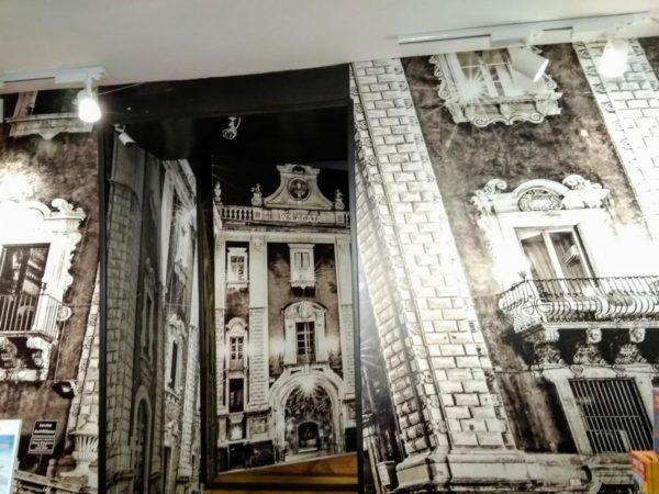 stylizowana tapeta fototapeta graficzna na ścianę