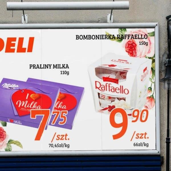 Druk plakatów reklamowych na billboard