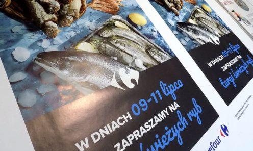Plakaty promocyjne druk grafiki reklamowej