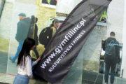 flaga reklamowa przenośna Drukowanie reklamy i grafiki