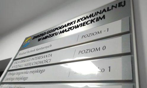 tablica modułowa panelowa system wymiany treści