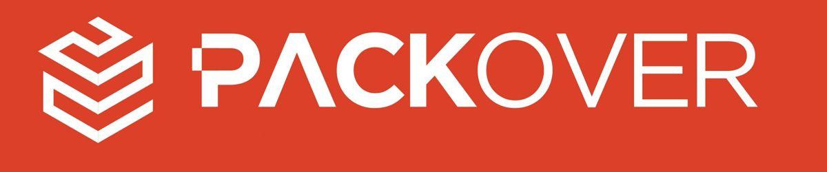kopia aktualnego logo firmy Packover litery sygnet