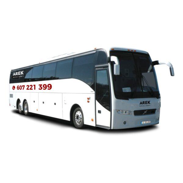 Reklama - naklejki na autokar, autobus 1