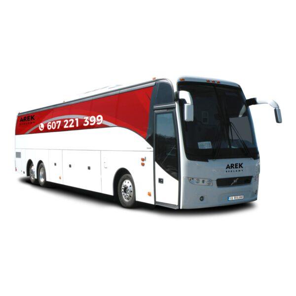 Reklama - naklejki na autokar, autobus 2