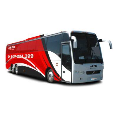Reklama - naklejki na autokar, autobus 4
