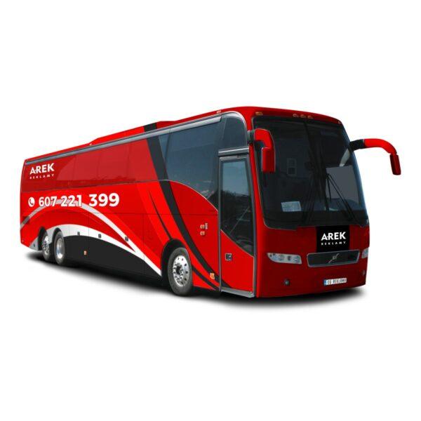 Reklama - naklejki na autokar, autobus 5