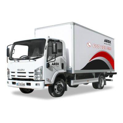 Reklama - naklejki na samochód ciężarowy 2