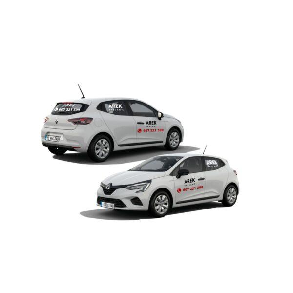 Reklama - naklejki na samochód osobowy średni - segment B 1