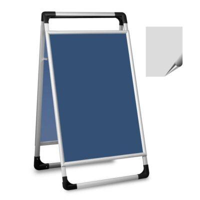 Składany potykacz reklamowy aluminiowy dwustronny 60 × 90