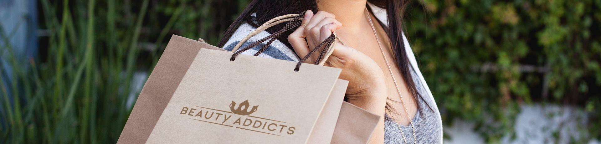 Nadruk logo reklama salonu kosmetycznego
