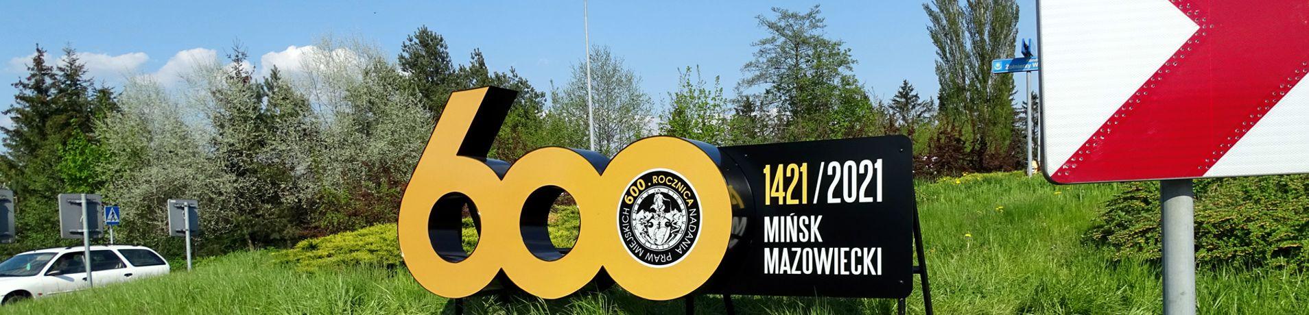 Przestrzenna reklama zewnetrzna Miasta Mińsk Mazowiecki