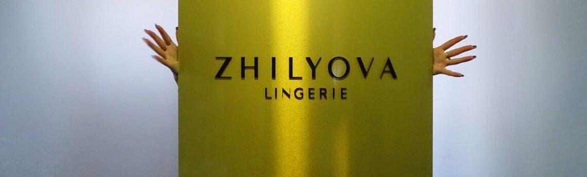 Elegancki złoty szyld – reklama zewnętrzna 3D