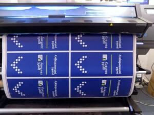 Oznakowanie informacyjne do budynku urzędu profil zaufany drukowanie